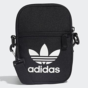 Adidas Originals - Sacoche Festival Trefoil EI7411 Noir Blanc