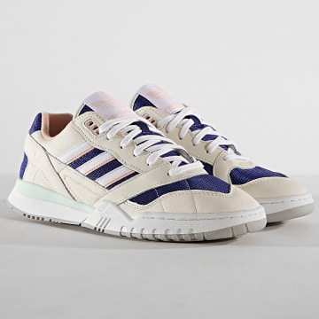Baskets A.R. Trainer EF1628 Off White Footwear White Real Purple