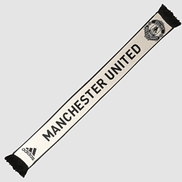 Adidas Performance - Echarpe Manchester United DY7701 Noir Blanc