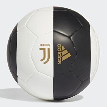 Ballon Juventus DY2528 Noir Blanc Doré