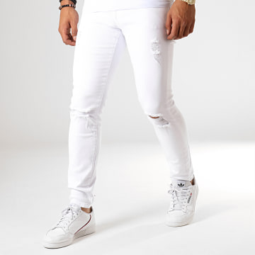 Jean Slim 13915 Blanc
