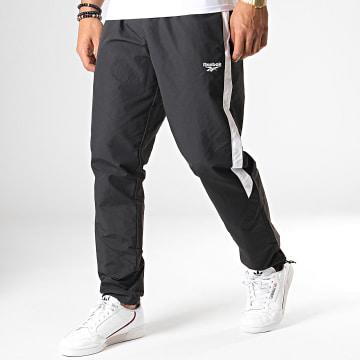 Pantalon Jogging A Bandes Classics EK4366 Noir Blanc