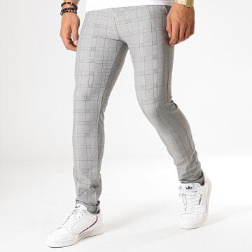 MTX - Pantalon A Carreaux 1024 Gris