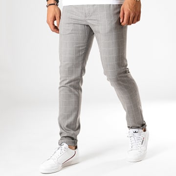 MTX - Pantalon A Carreaux 233 Gris
