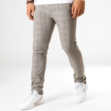 MTX - Pantalon A Carreaux 224 Gris