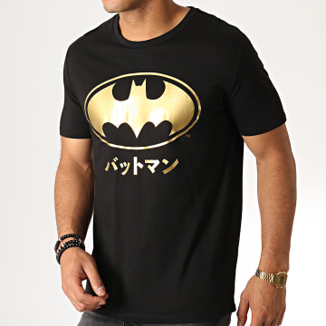 DC Comics - Tee Shirt Batman Japan Noir Or