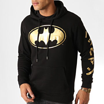 DC Comics - Sweat Capuche Batman Japan Noir Doré