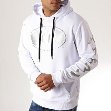 Sweat Capuche Batman Japan Blanc Argenté