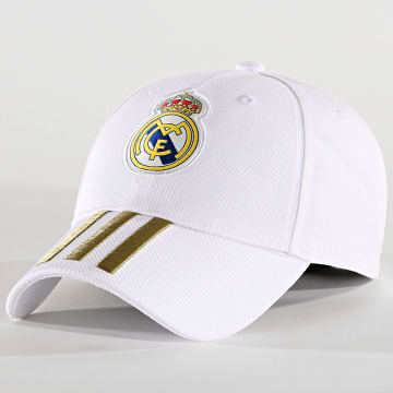 adidas - Casquette Real Madrid C40 DY7720 Blanc Doré