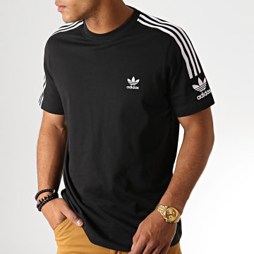Adidas Originals - Tee Shirt A Bandes Tech ED6116 Noir
