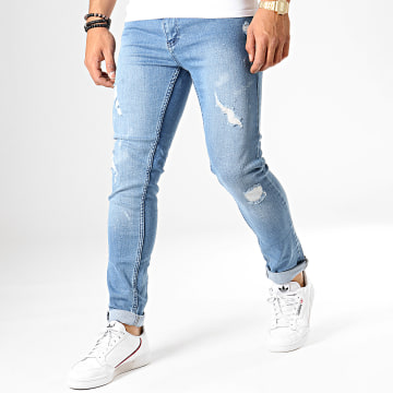 Jean Slim 425 Bleu Denim