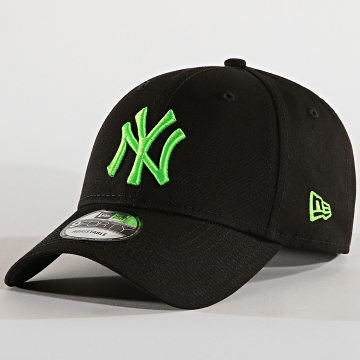 Casquette Baseball 9Forty League Essential 94 New York Yankees 12062853 Noir Vert Fluo