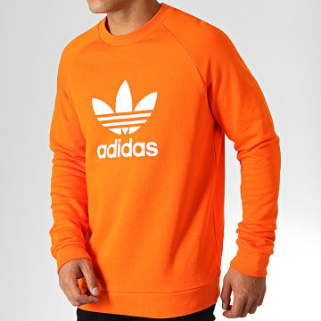 Sweat Crewneck Trefoil ED5947 Orange