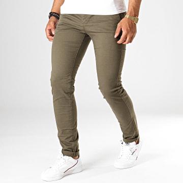 Pantalon Chino 1005 Vert Kaki