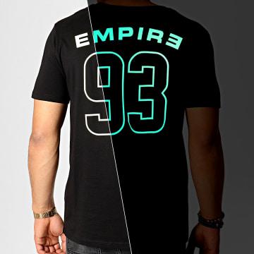 93 Empire - Tee Shirt Glow In The Dark Dossard Noir