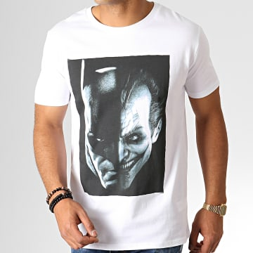 DC Comics - Tee Shirt Two Face Blanc