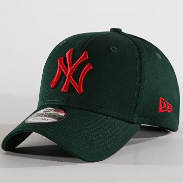 New Era - Casquette Baseball 9Forty FRC MRKT New York Yankees 12109563 Vert Foncé Rouge