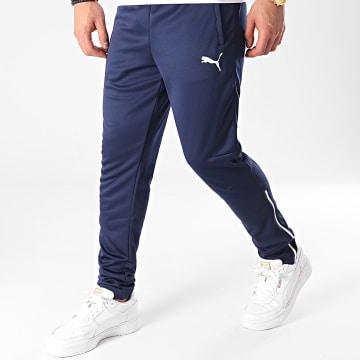 Puma - Pantalon Jogging SMU France Training 655259 Bleu Marine