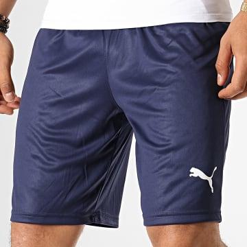 Puma - Short Jogging Liga 703436 Bleu Marine