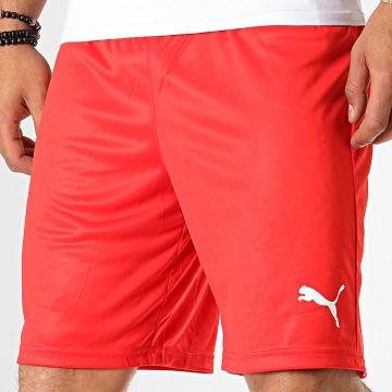 Puma - Short Jogging Liga 703436 Rouge