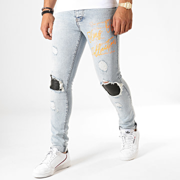 Jean Slim 168 Bleu Wash