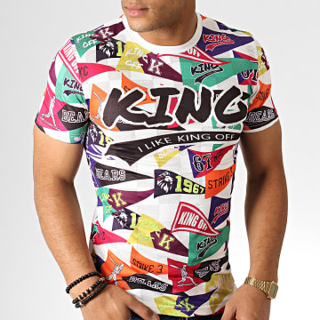 King Off - Tee Shirt A085 Blanc