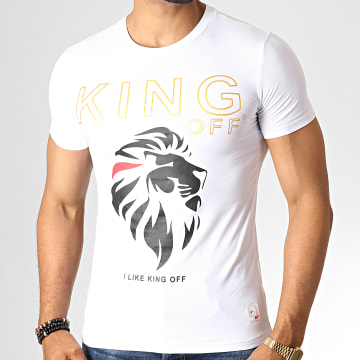 King Off - Tee Shirt A059 Blanc
