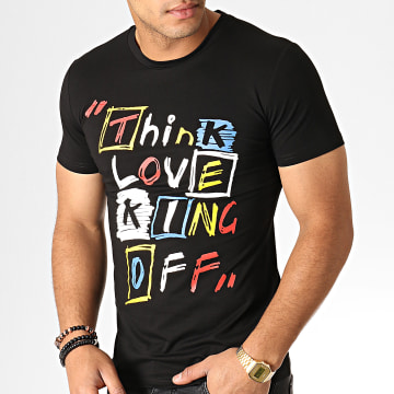 King Off - Tee Shirt A067 Noir