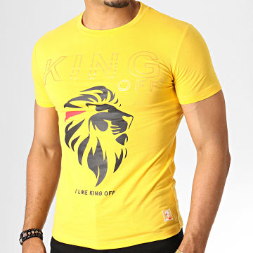 King Off - Tee Shirt A059 Jaune