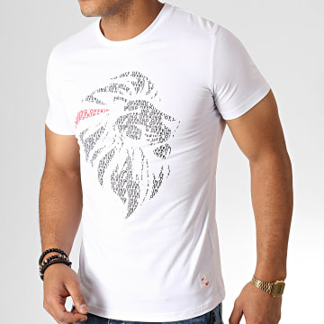 King Off - Tee Shirt A062 Blanc