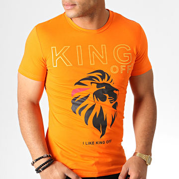 King Off - Tee Shirt A059 Orange