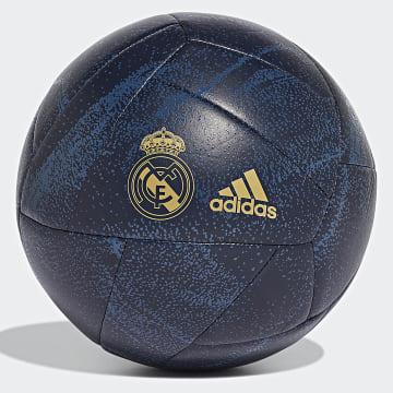 Ballon De Foot Real Madrid EC3035 Bleu Marine Doré
