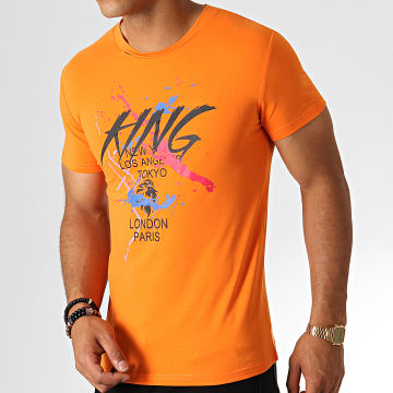 King Off - Tee Shirt A080 Orange
