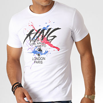 King Off - Tee Shirt A080 Blanc