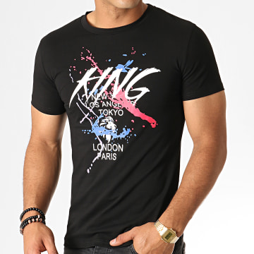 King Off - Tee Shirt A080 Noir