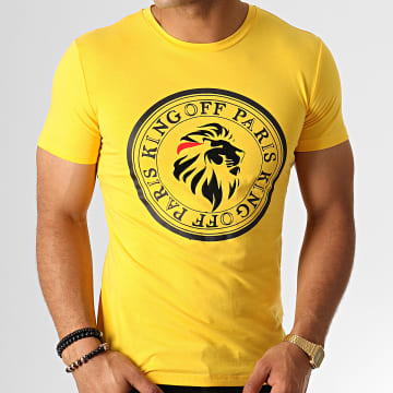 King Off - Tee Shirt A060 Jaune