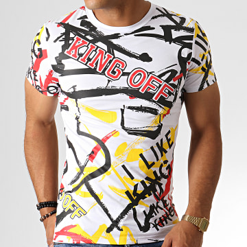 King Off - Tee Shirt A058 Blanc