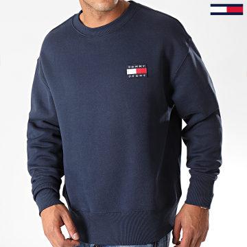 Tommy Jeans - Sweat Crewneck Badge 6592 Bleu Marine