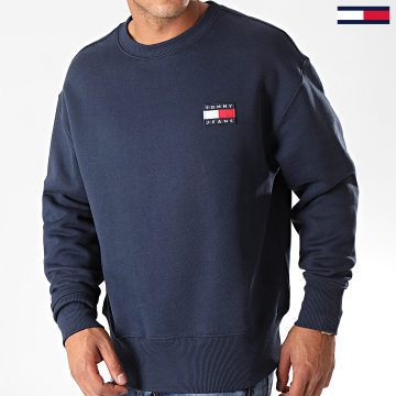 Sweat Crewneck Badge 6592 Bleu Marine