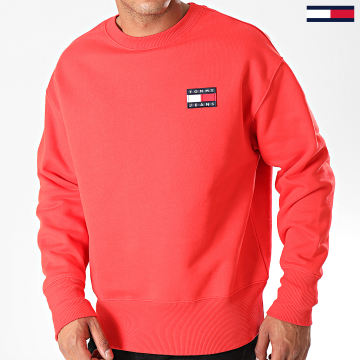 Sweat Crewneck Badge 6592 Rouge