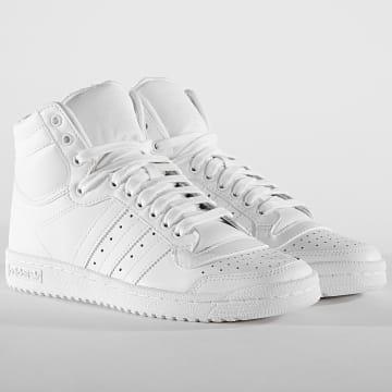 Baskets Top Ten Hi S84596 Footwear White