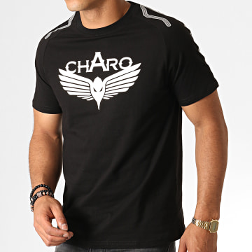 Charo - Tee Shirt Storm WY4766 Noir Blanc