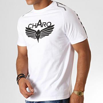 Charo - Tee Shirt Storm WY4766 Blanc Noir Gris