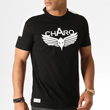 Charo - Tee Shirt Unlimited WY4763 Noir Blanc