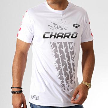 Charo - Tee Shirt Motorsport WY4785 Blanc