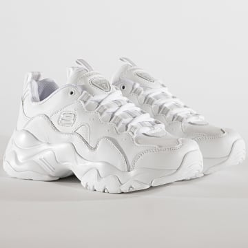 Baskets Femme D'Lites 13376 Proven Force White
