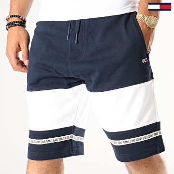 Short Jogging Tape 6516 Bleu Marine Blanc