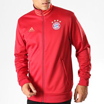 Veste Zippée FC Bayern 3 Stripes DX9226 Bordeaux