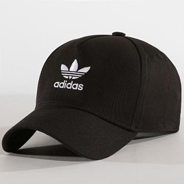 Adidas Originals - Casquette Trefoil ED8704 Noir Blanc