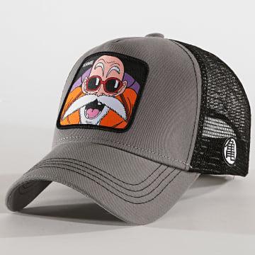 Casquette Trucker Kame Gris Noir